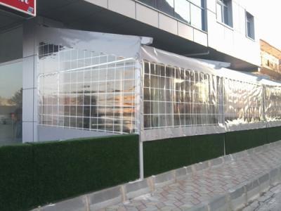 Şeffaf Tente